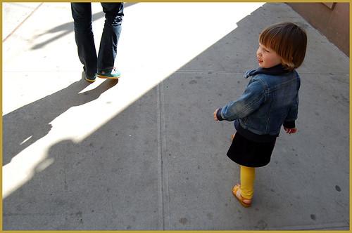 walkin' in the city
