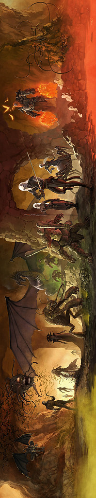 Dungeons and Dragons 4E DM Screen, by Francis Tsai
