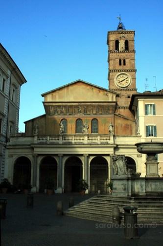 Basilica of Santa Maria in Trastevere, Trastevere, Rome