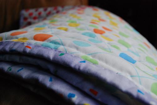1st quilt - binding