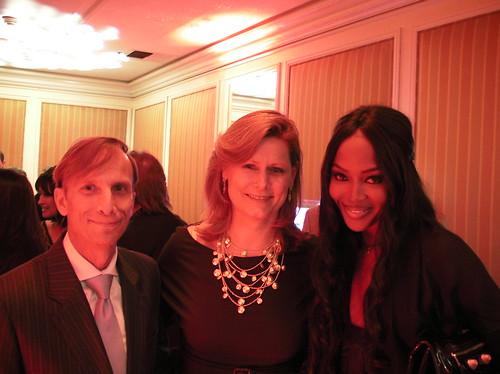 Dr. Mark Dybul, Sarah Brown, Naomi Campbell