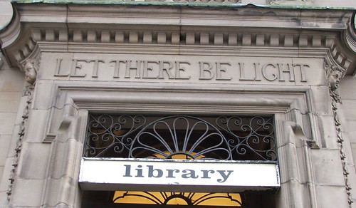 Motherwell Library Entrance