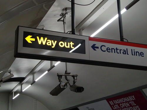"""The undeground has no """"Exits"""", only Ways out"""