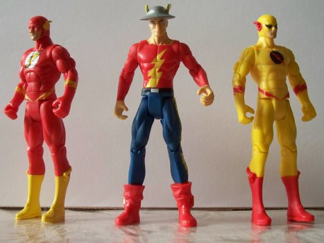 Flash Legacy: Wally West, Jay Garrick, and Zoom