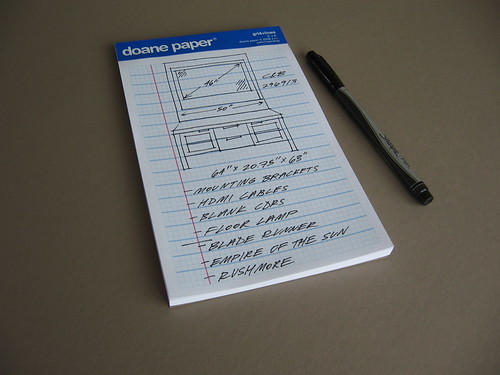5x8 Writing Pad in Use