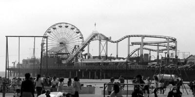 Santa Monica Pier and Muscle Beach