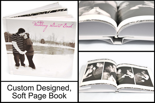 Great as a wedding guest book or for family, fashion and pet portraits.