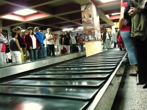A buscar las valijas