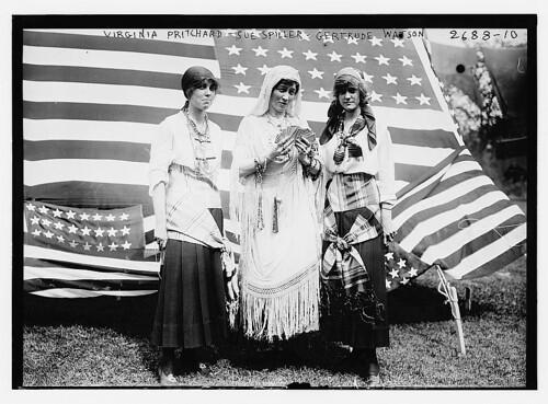 Virginia Pritchard, Sue Spiller, Gertrude Watson (LOC)