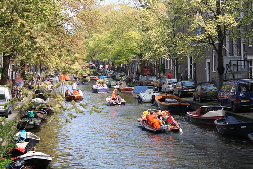 Barcos laranja