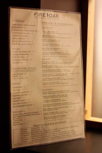 Fire Oak Restaurant, Westin Hotel, Jersey City NJ by you.