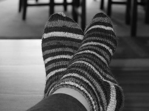 Finished Socks