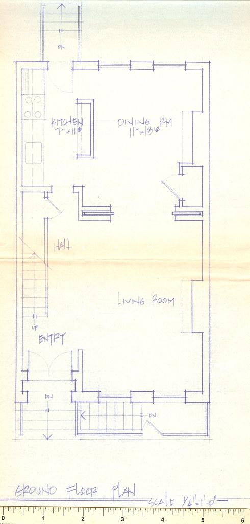 1st floor no wall layout