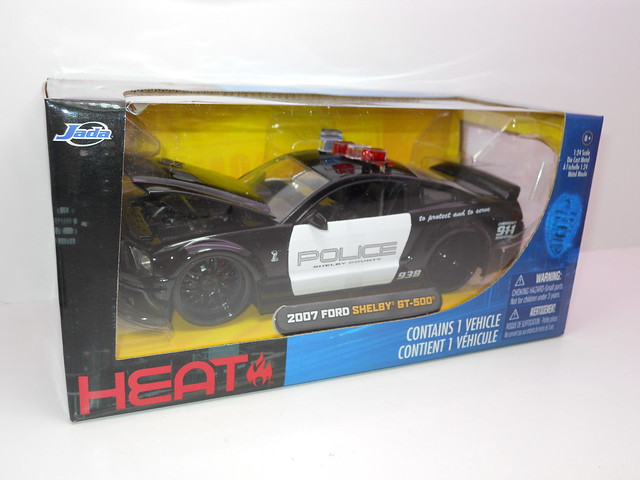 jada toys '07 ford shelby gt-500 police (2)