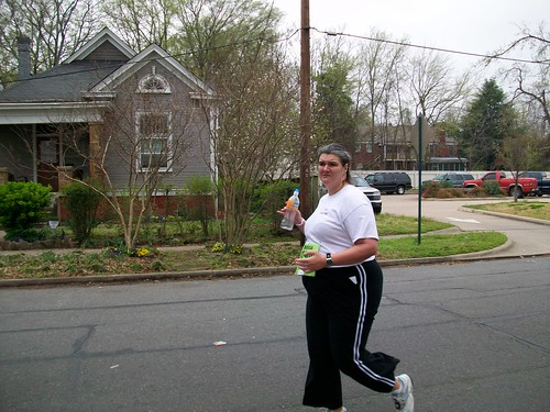 Around mile 7. (when mothers with cameras attack)