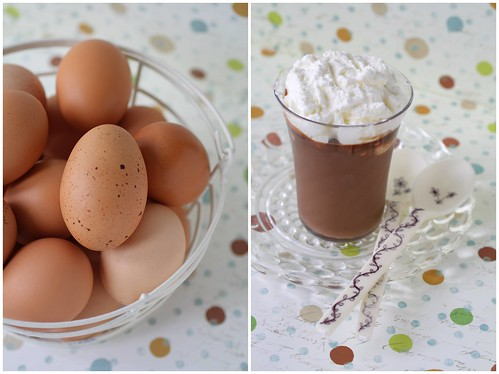 Egg and custard