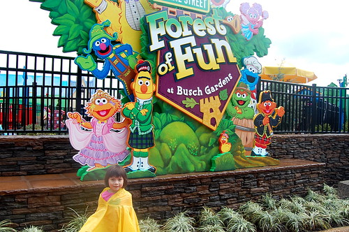 entrance to the new Sesame Street Forest of Fun