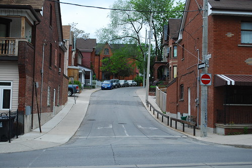 A side street off Ossington Street
