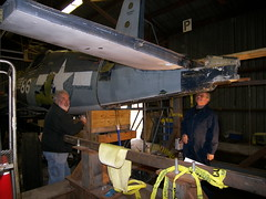 Mark & Rich Working on the Corsair