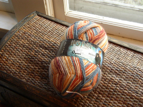 yarn for sis' socks