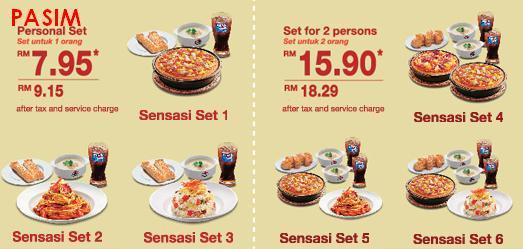 Pizza Hut Sensasi Delight