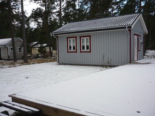 Guesthouse in the winter