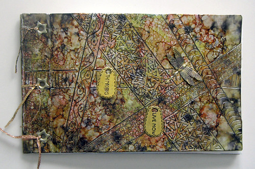 junk journal 4 (c) 2009, Lynne Medsker