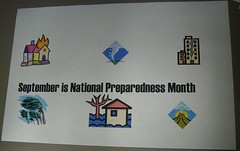 National Preparedness Month Sign