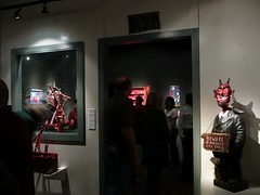 Opening night for Rare Visions, Detour Art Exhibit