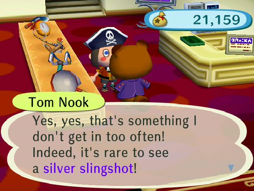 Yes - a Silver Slingshot!
