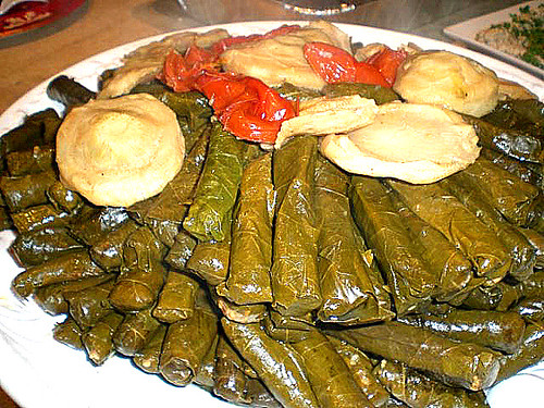 Stuffed GrapeLeaves- Yabra