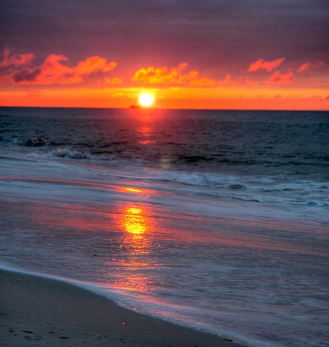 HDR sunrise at Gulf Shores, Ala.