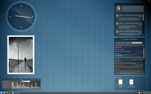 My Current KDE desktop