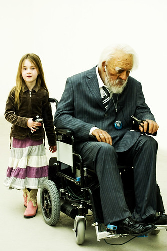 Saatchi Gallery - Young & Old by vintagedept, on Flickr
