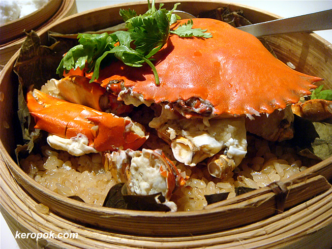 Crab with Glutinous Rice