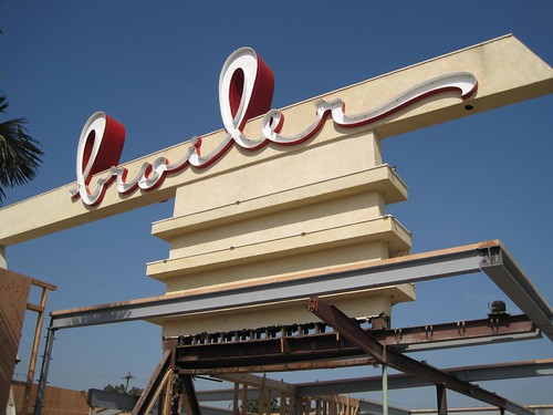Downey, California Bob's Big Boy Broiler by The Downey Historical Conservancy.