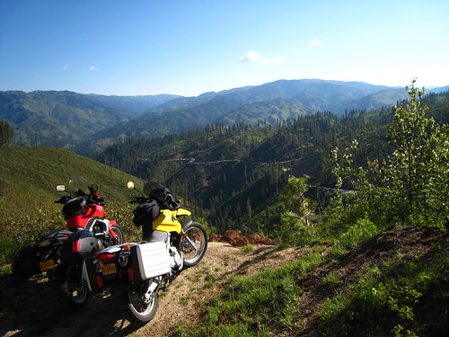 Breathtaking vista on the Ponderosa Pine Scenic Byway