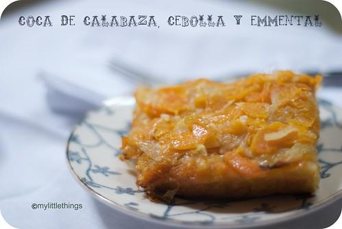 Coca de Cebolla y Calabaza