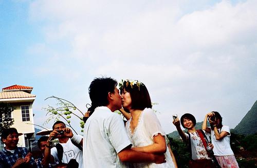 [DD's wedding] kissssss