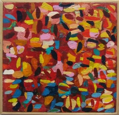 sarah giannobile red painting