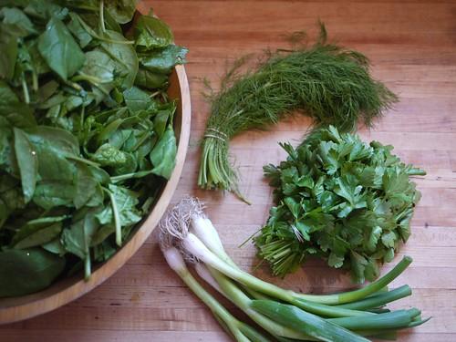 Spanakopita - Greens