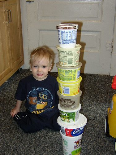 tower of bowls