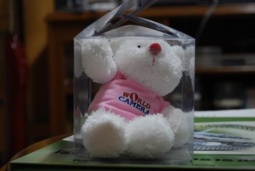 ของแถมตุ๊กตาหมี