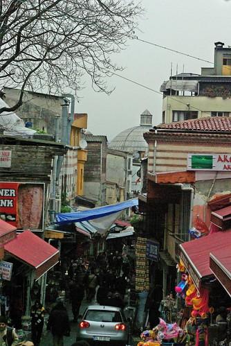 streets of Mahmutpaşa, İstanbul, Pentax K10d