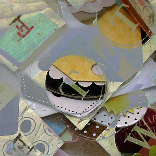 alphabet & scraps, close up #3 (c) 2009, Lynne Medsker