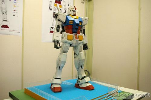Life-size RZ-78 Gundam Model