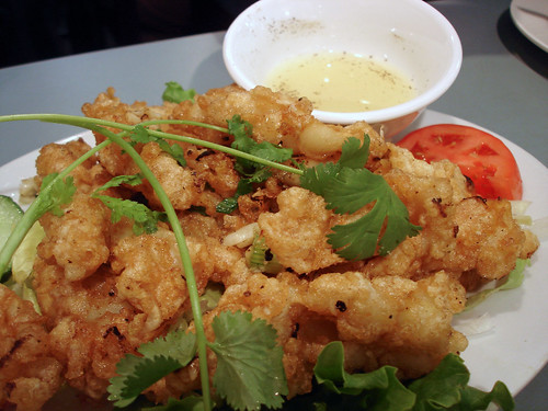 Fried Garlic Squid