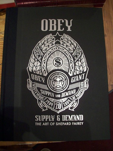 shepard fairey obey supply and demand 20th anniversary