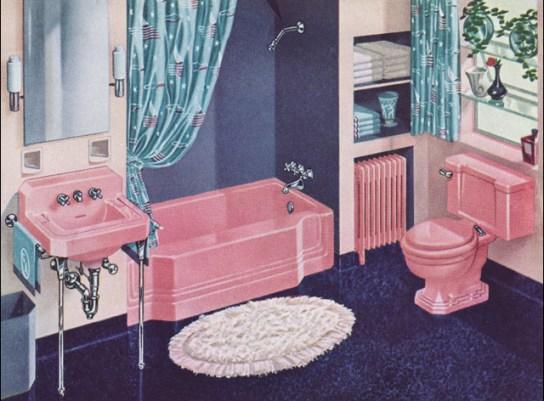 1941 American Standard Pepto-Pink Bath