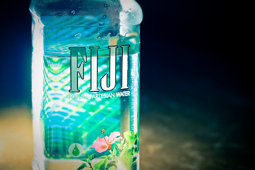 Bottle of Fiji Water; Photo Credit: brianjmatis, Creative Commons licensed on Flickr